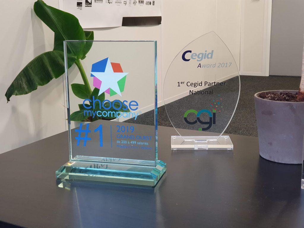 Trophées Choose my Company et Cegid Awards