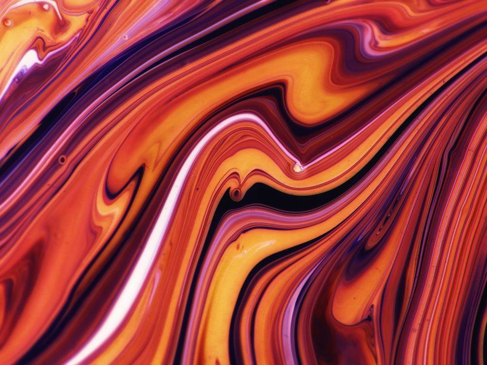 Visuel abstrait coloré