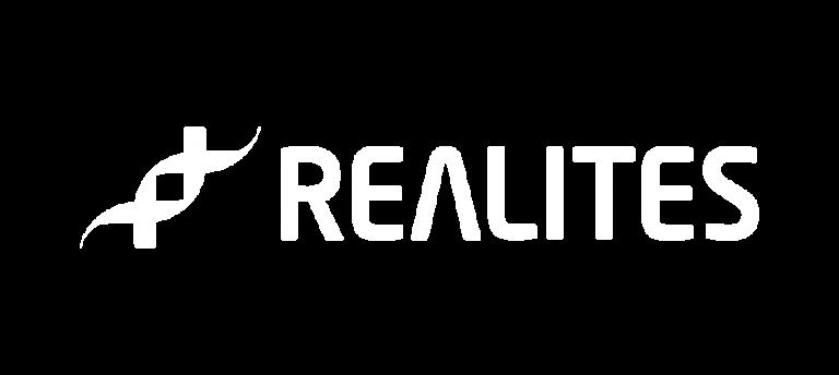 logo réalltés blanc
