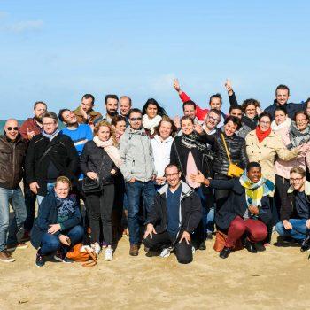 Photo de groupe OGI lors du séminaire à Deauville